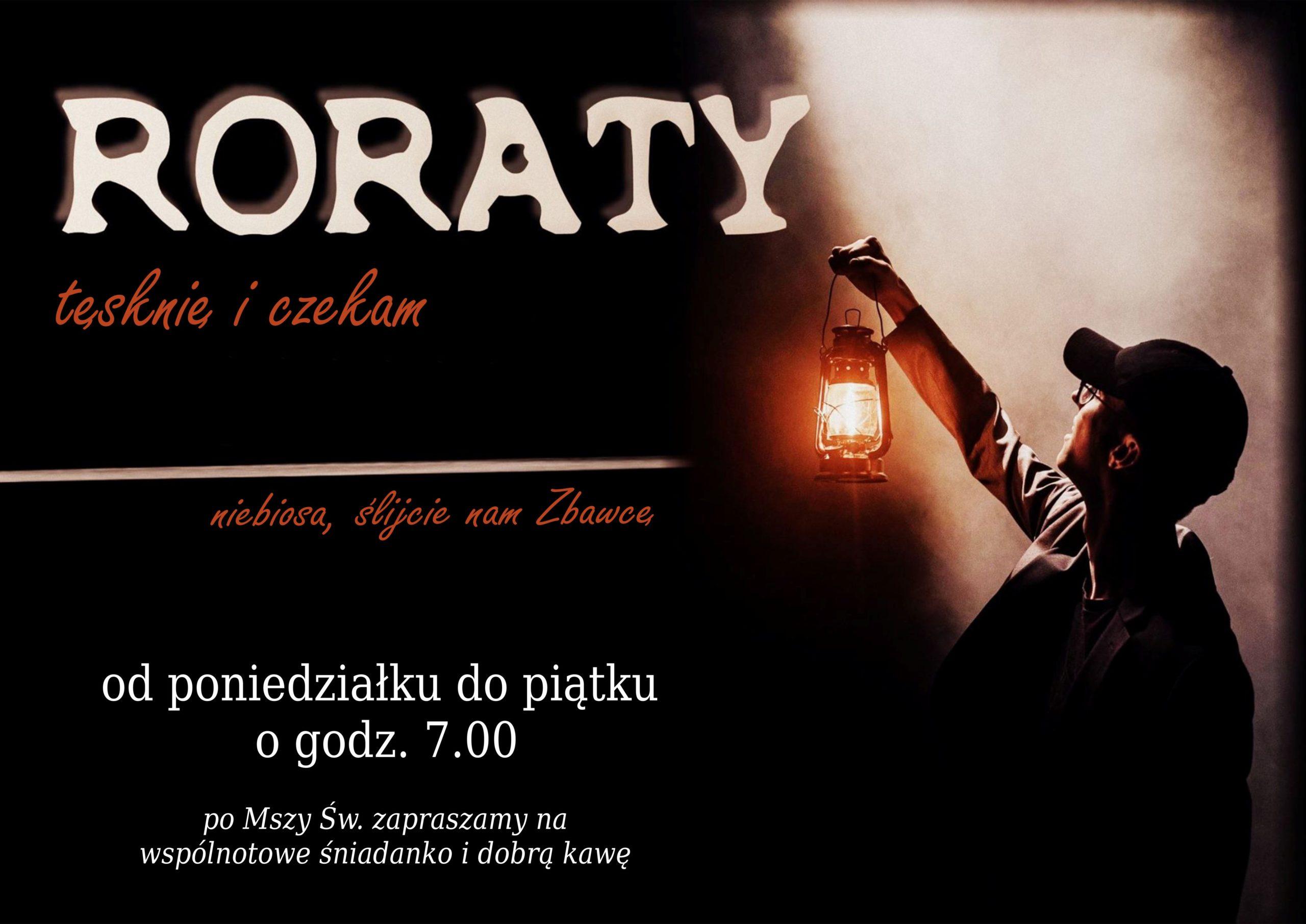 Zapraszamy na Roraty!