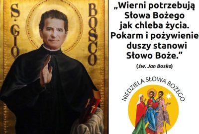 3. Niedziela zwykła – odpust ku czci św. Jana Bosko